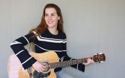 Jong talent Leanne Serena bij Sponsordiner