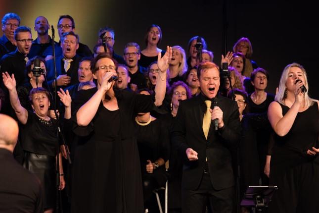 The Choir Company en Events For Christ